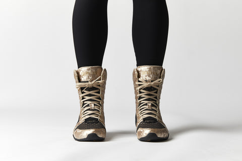 Eos High Top in Black/Gold