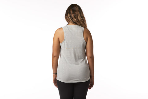Society Nine Matrix Tank in Dew Gray