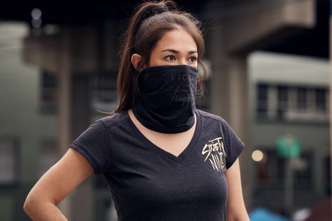"""Fight or Flight"" Reflective & Adjustable Neck Gaiter"