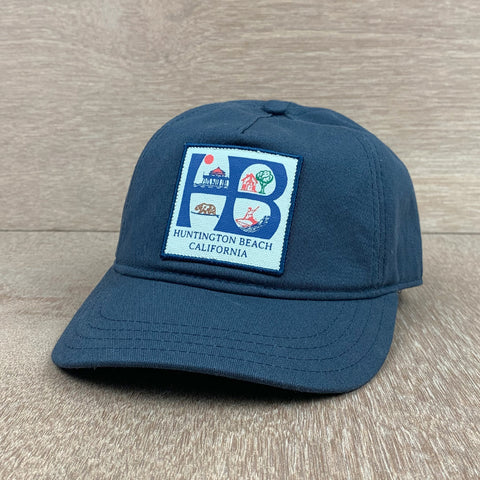 HSS HB LOGO 5 PANEL HAT