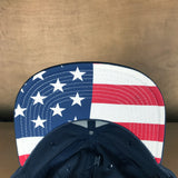 HSS HARDCORE PATRIOTIC EMBROIDERED FLAG HAT