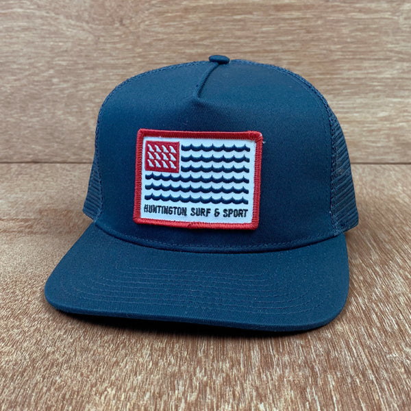 HSS FINS AND STRIPES TRUCKER HAT