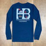 HSS HB LOGO LONG SLEEVE TEE