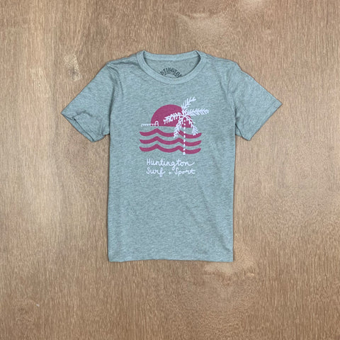 HSS GIRLS ONE PALM PIER TEE