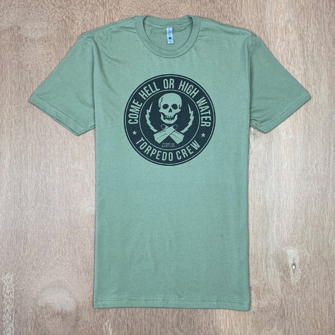 TORPEDO PEOPLE COME HELL OR HIGH WATER TEE