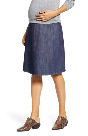 Flared Maternity Skirt