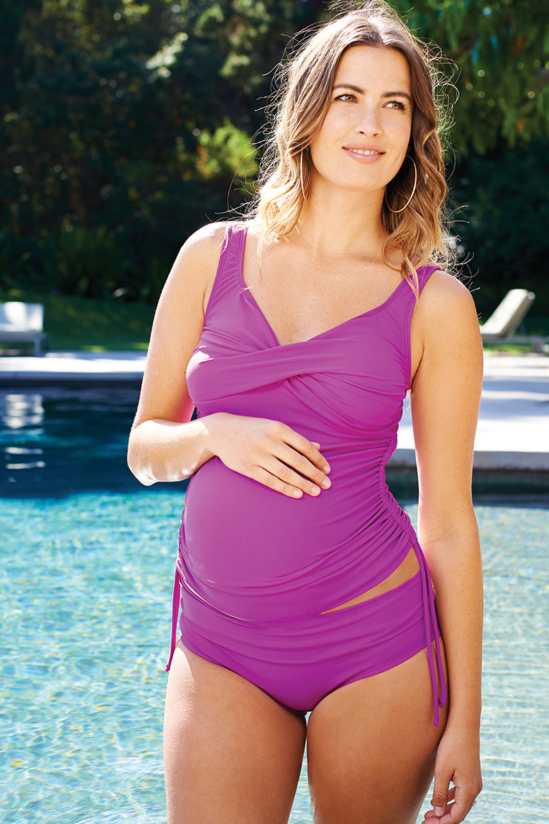 Bella Ruched Tankini Set