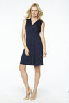 Scoop Neck Front Tie Dress
