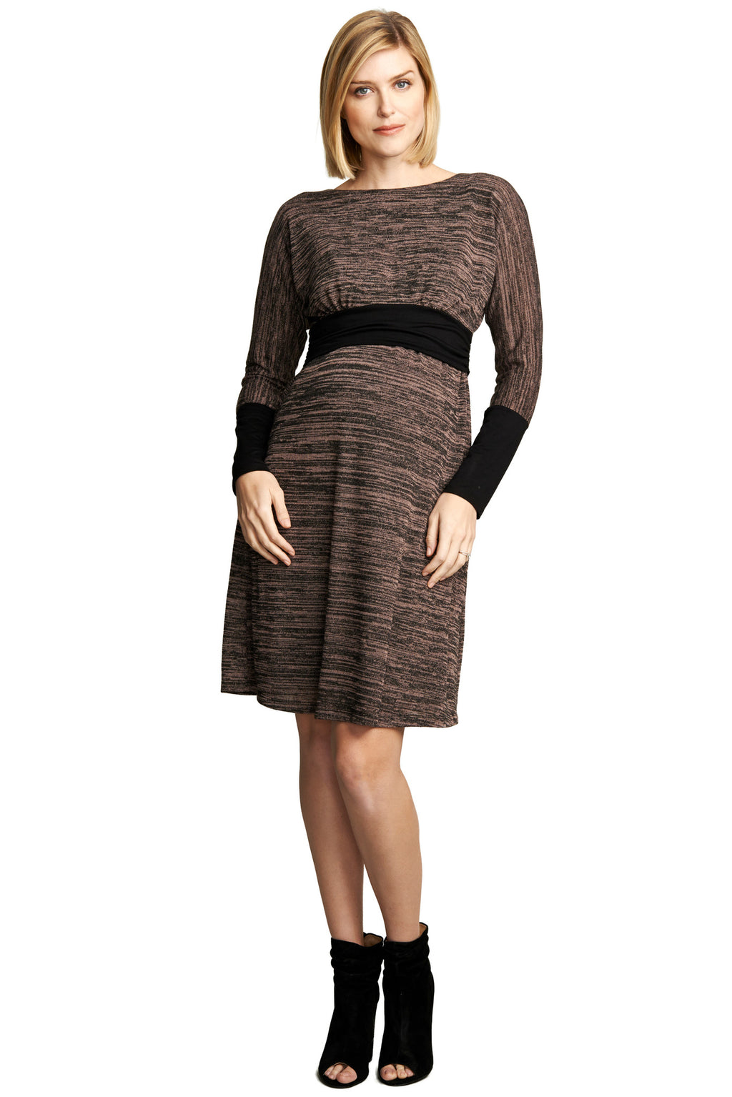 MATERNITY/NURSING EMPIRE DRESS