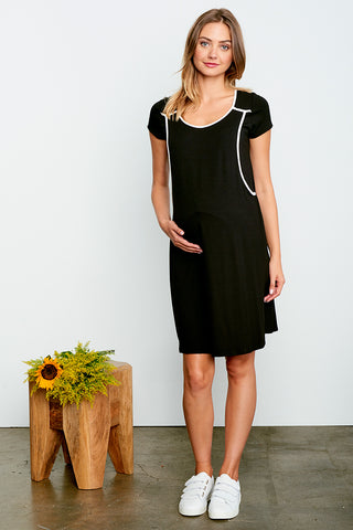 A-Line Nursing Dress