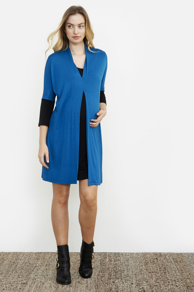LAYER MATERNITY/NURSING DRESS