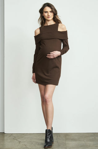 Front Tie Satin Dress
