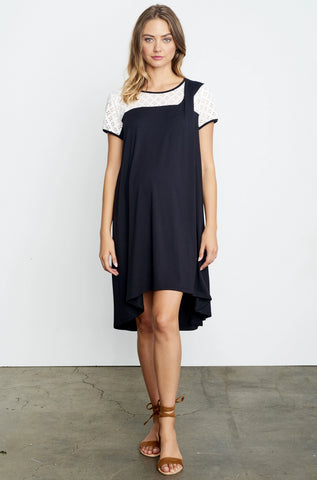 Button Band Dress