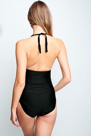 Jasmine Key Hole One-Piece Swimsuit