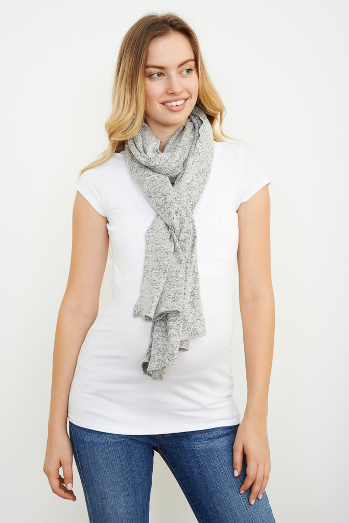 ORIGINAL NURSING SCARF GREY