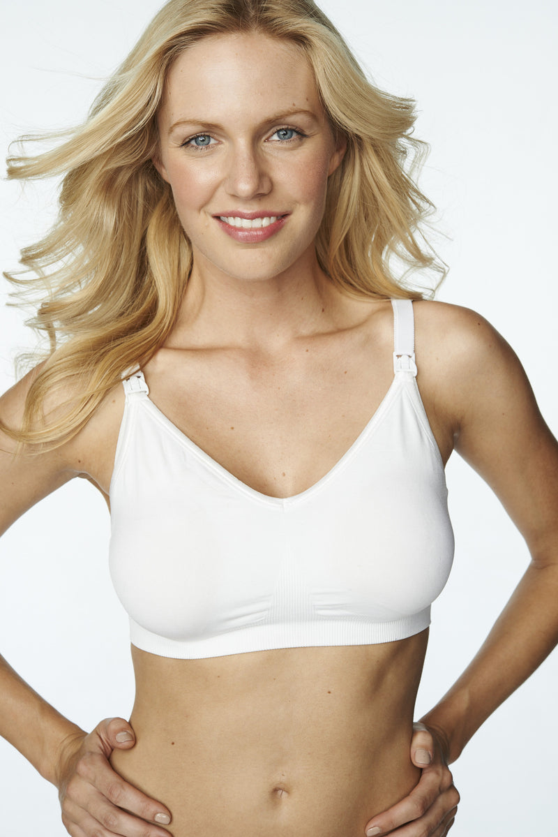 White Nursing Bra