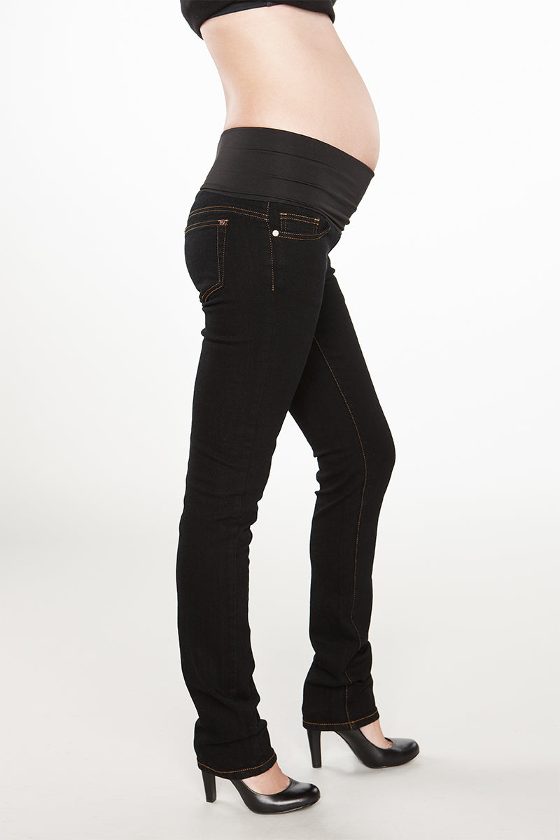 Belly Support Ankle Jeans