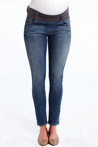 Over the Bump Ankle Jeans