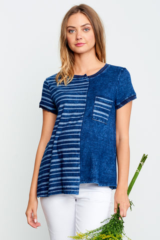 Ruched Nursing Tank Top
