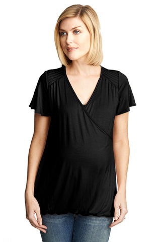 Short Sleeve Nursing Tee