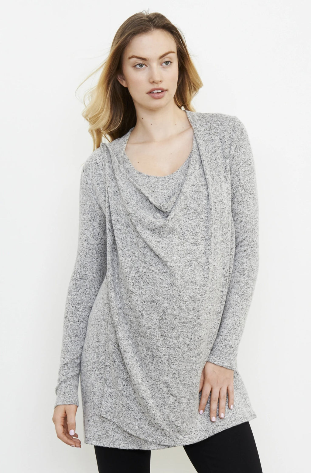 Wrap Nursing Sweater