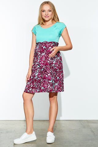 Ruffled Shoulders Dress