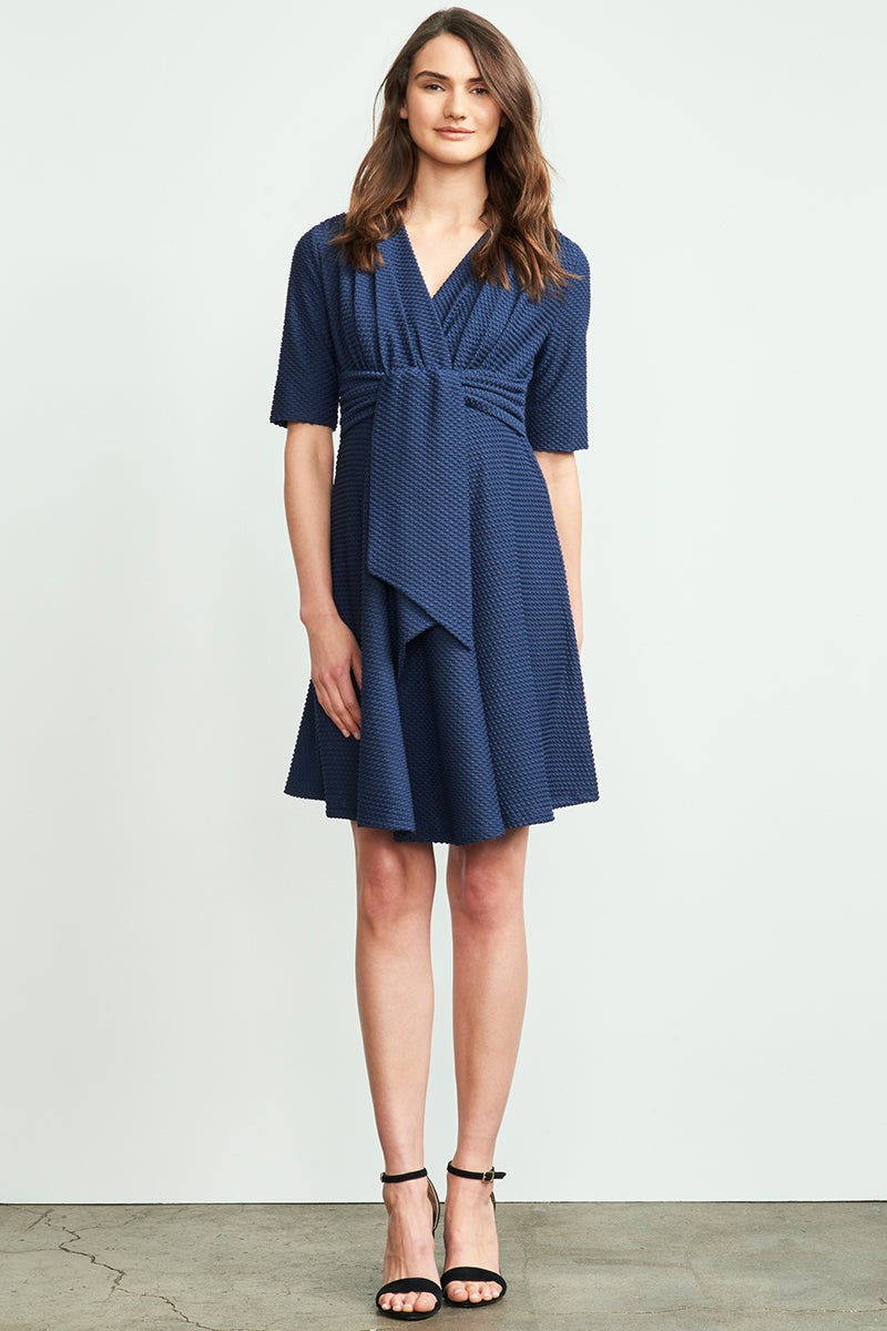Mini Front Tie Dress
