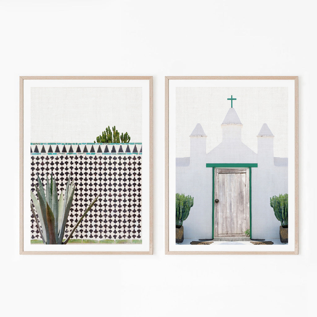 Set of 2 Digital Prints - Canary Island