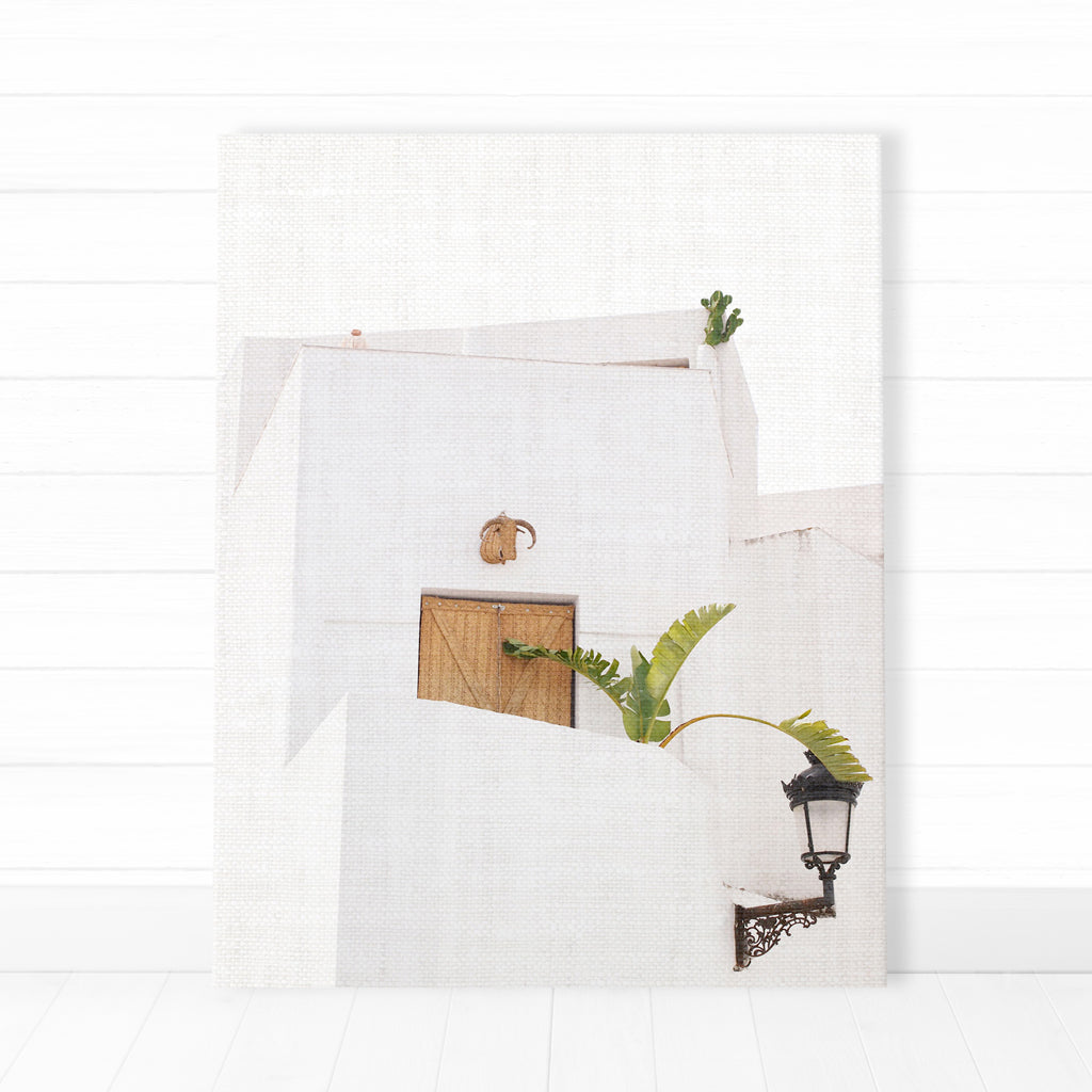 Set of 3 Canvas - White Architecture