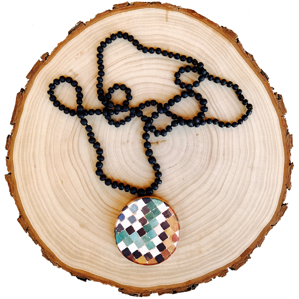 Geometric Granada Necklace