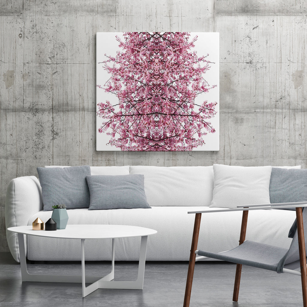 Canvas - Pink Cherry Blossom