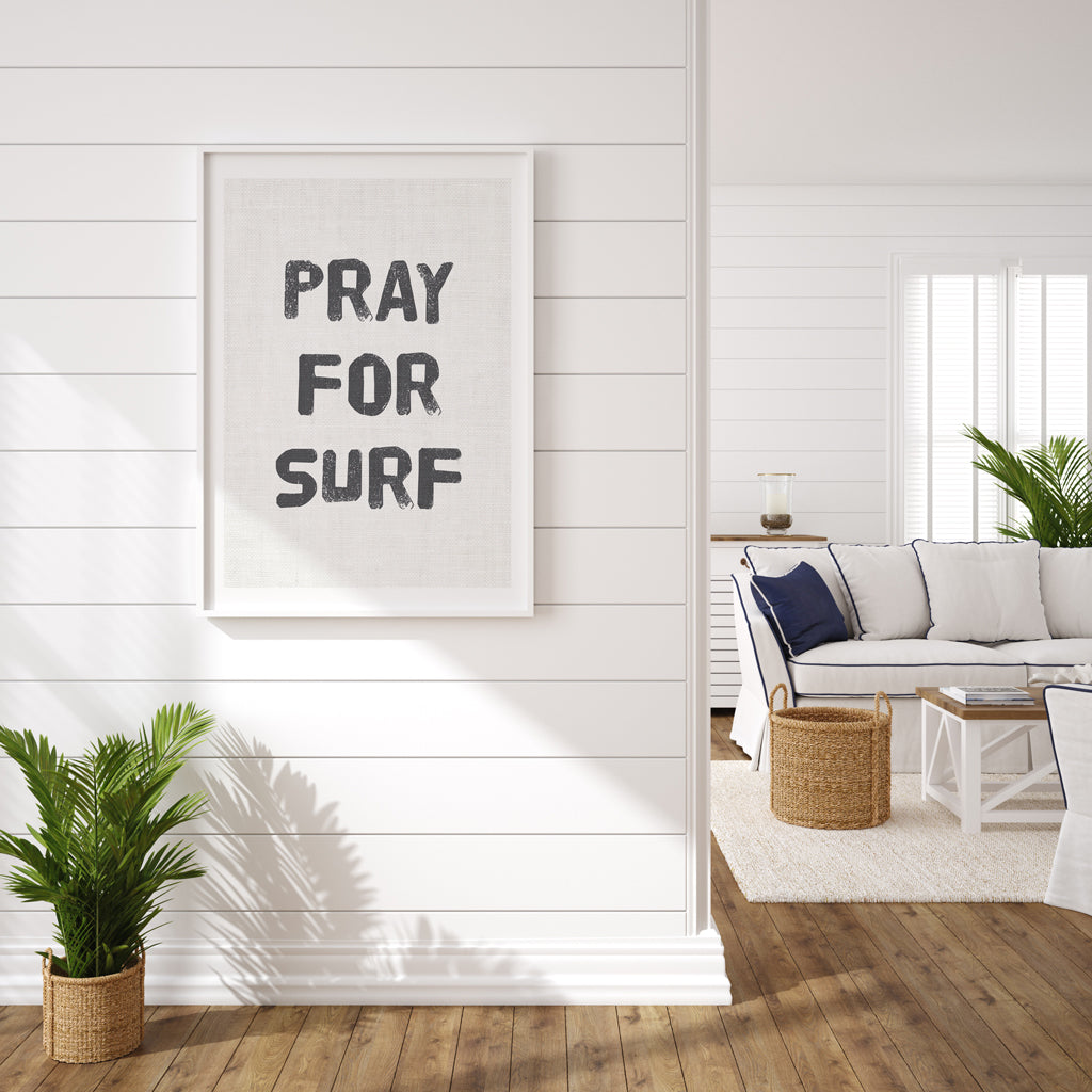 Quote - Pray for Surf