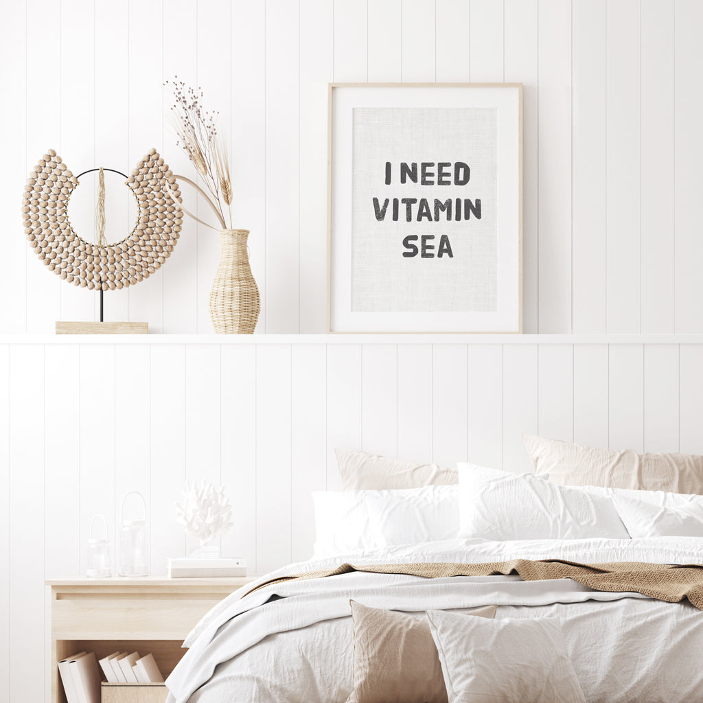 Quote - I Need Vitamin Sea