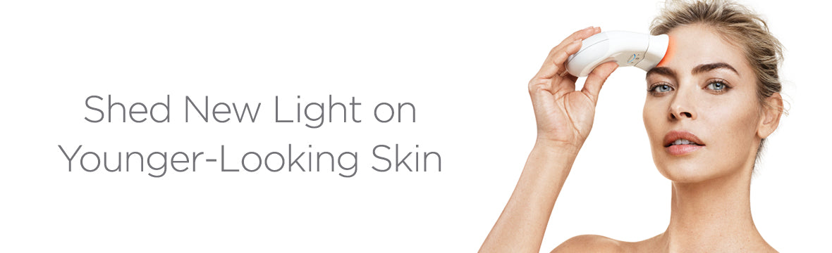 Say goodbye to wrinkles and hello to luscious, glowing skin with our Trinity Wrinkle Reducer Red LED Attachment. Use with your NuFACE Trinity Device.