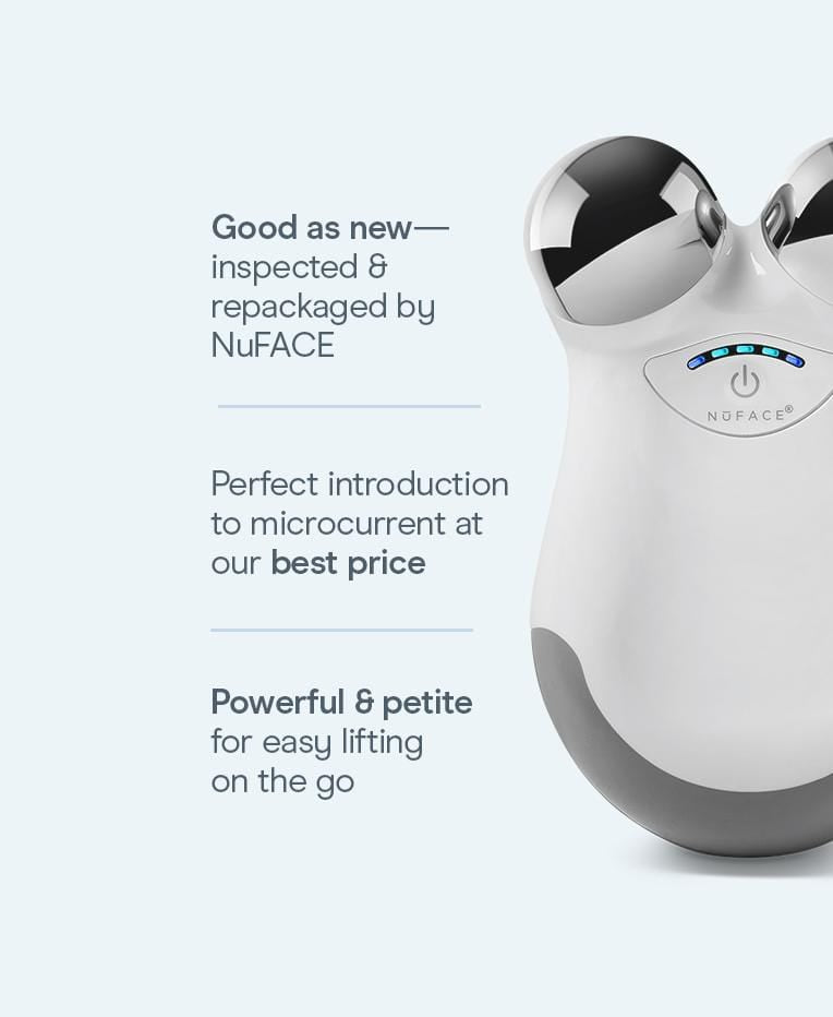 Refreshed NuFACE® Mini - Mini Facial Toning Device