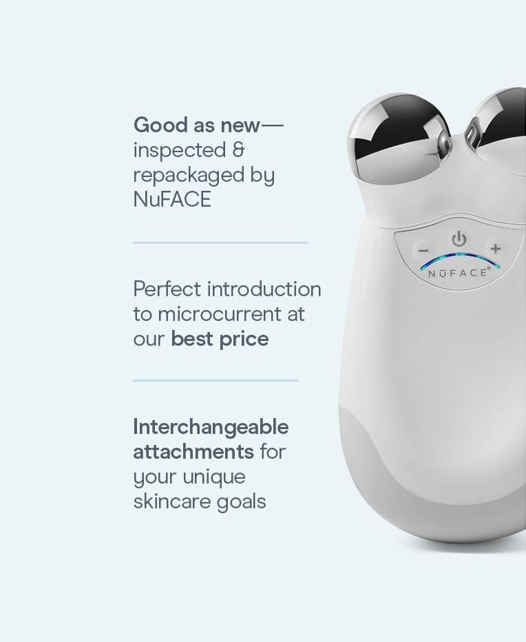 Refreshed NuFACE Trinity® -  Facial Toning Device