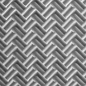 Herringbone, Decorative Sheet Metal, Metal Laminate - SpectraMetal