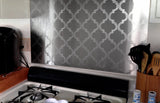 Moroccan Stainless Steel Kitchen Backsplash Application - SpectraMetal