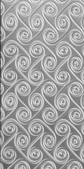 "Twisters, Decorative Sheet Metal, Metal Laminate, 24""x48"" - SpectraMetal"