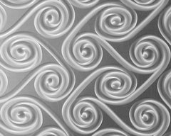 Twister Stainless Steel Kitchen Backsplash - SpectraMetal