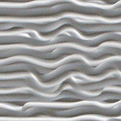 Wavy, Decorative Sheet Metal, Metal Laminate - SpectraMetal