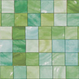 Green Tiles, Decorative Sheet Metal, Metal Laminate - SpectraMetal