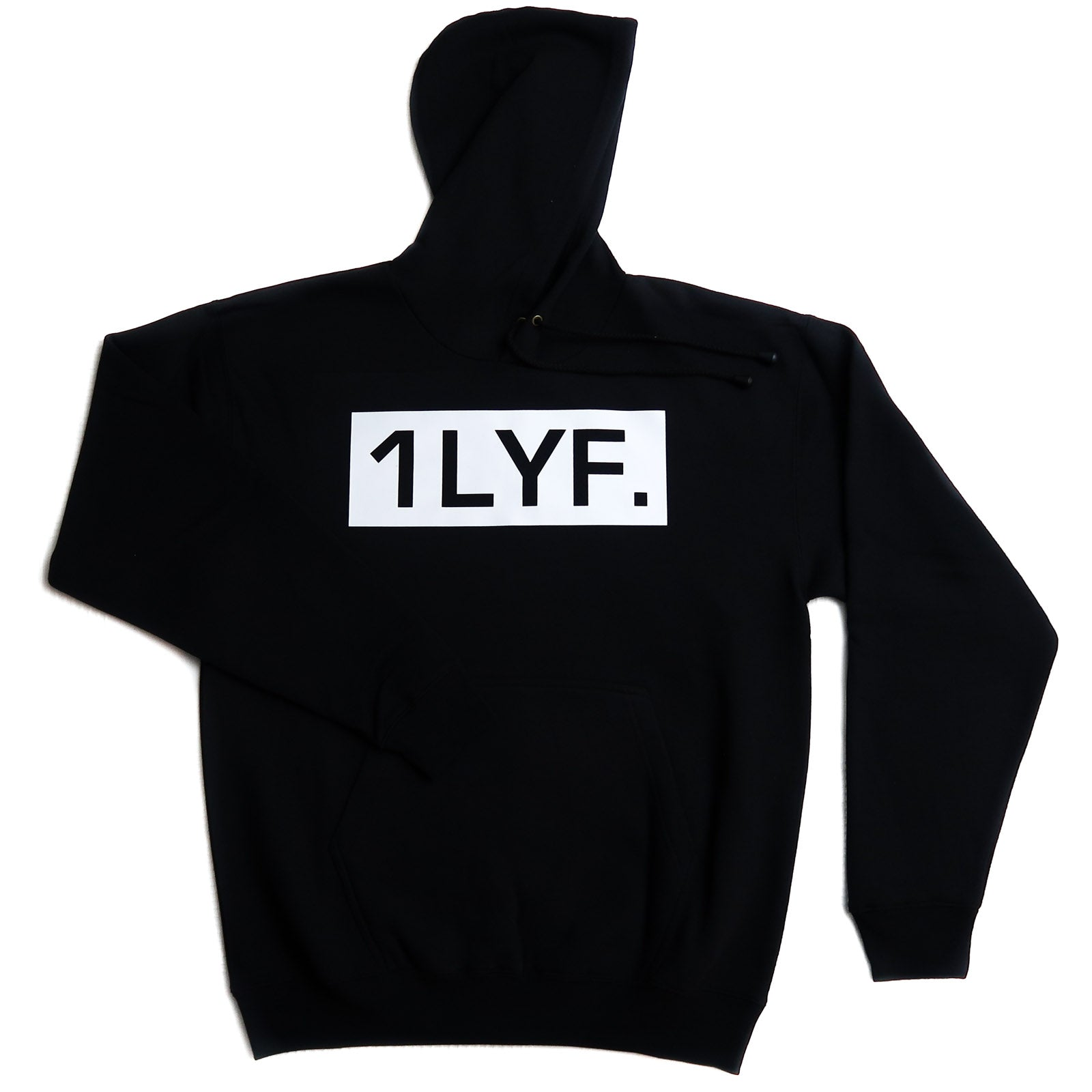 Womens Original Black/White Hoodie