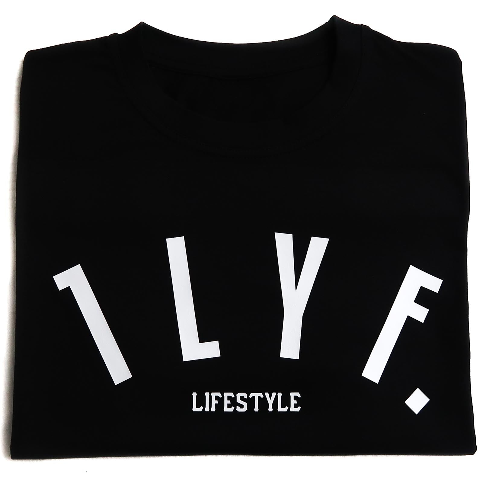 LifeStyle Black T-Shirt