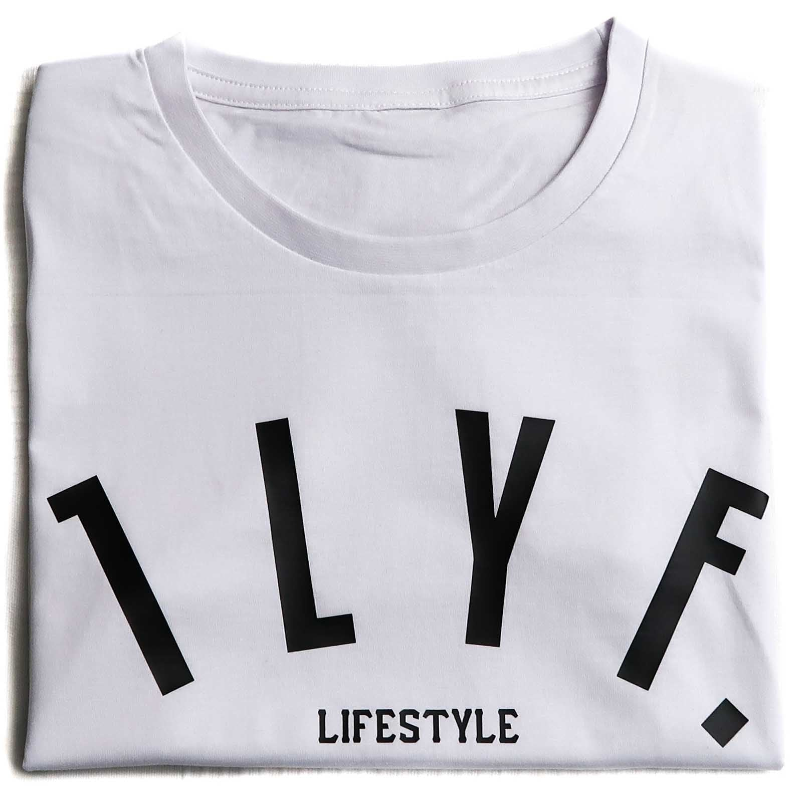 Womens LifeStyle White T-shirt