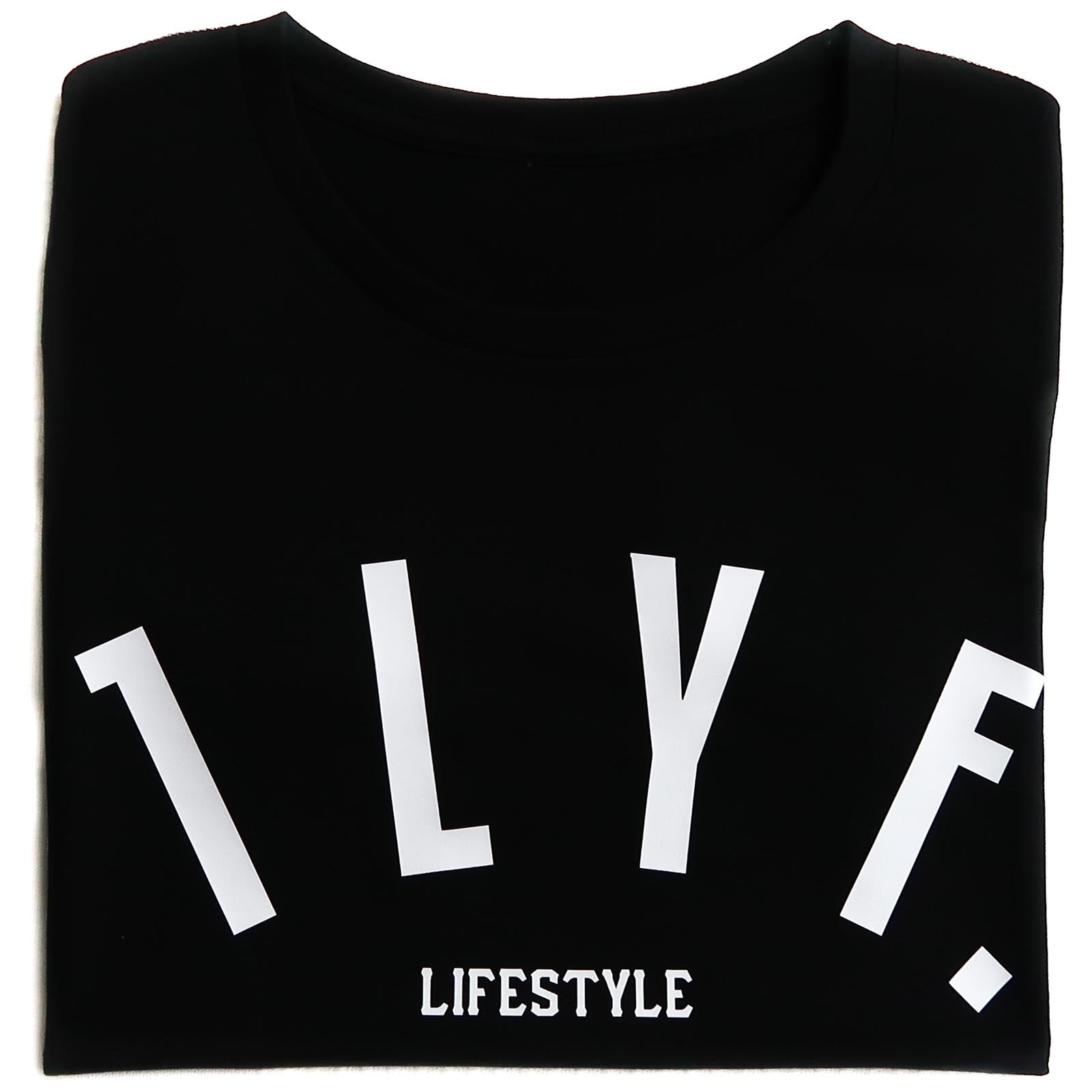 Womens LifeStyle Black T-shirt