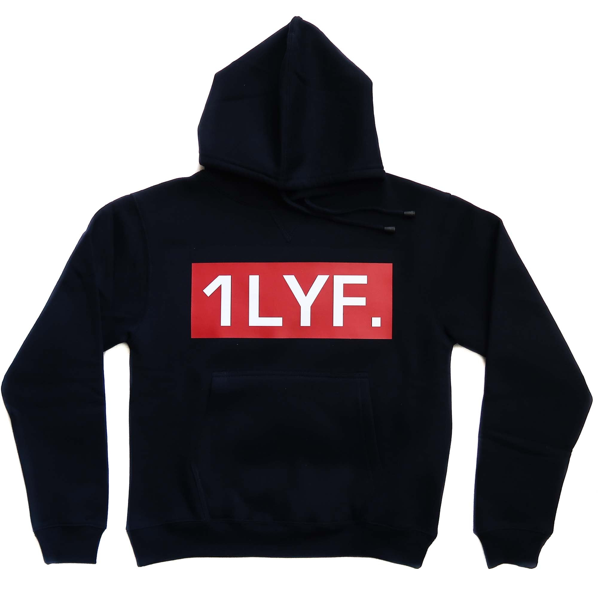 Mens Original Navy/Red Hoodie