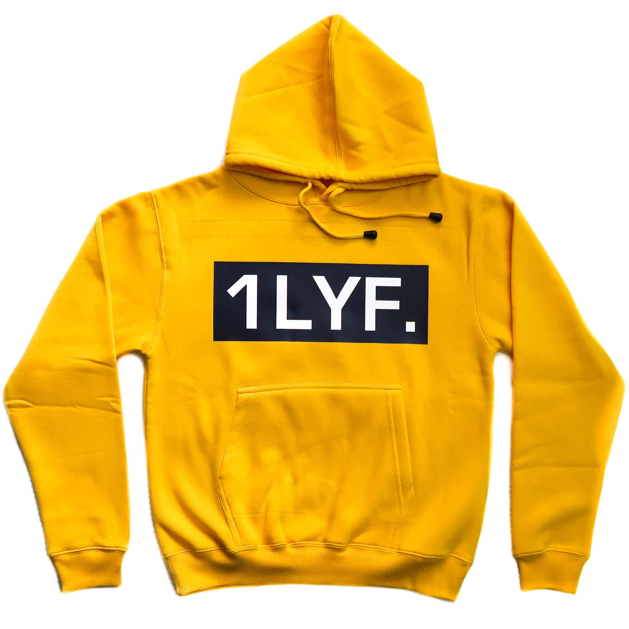 Womens Original Yellow Hoodie