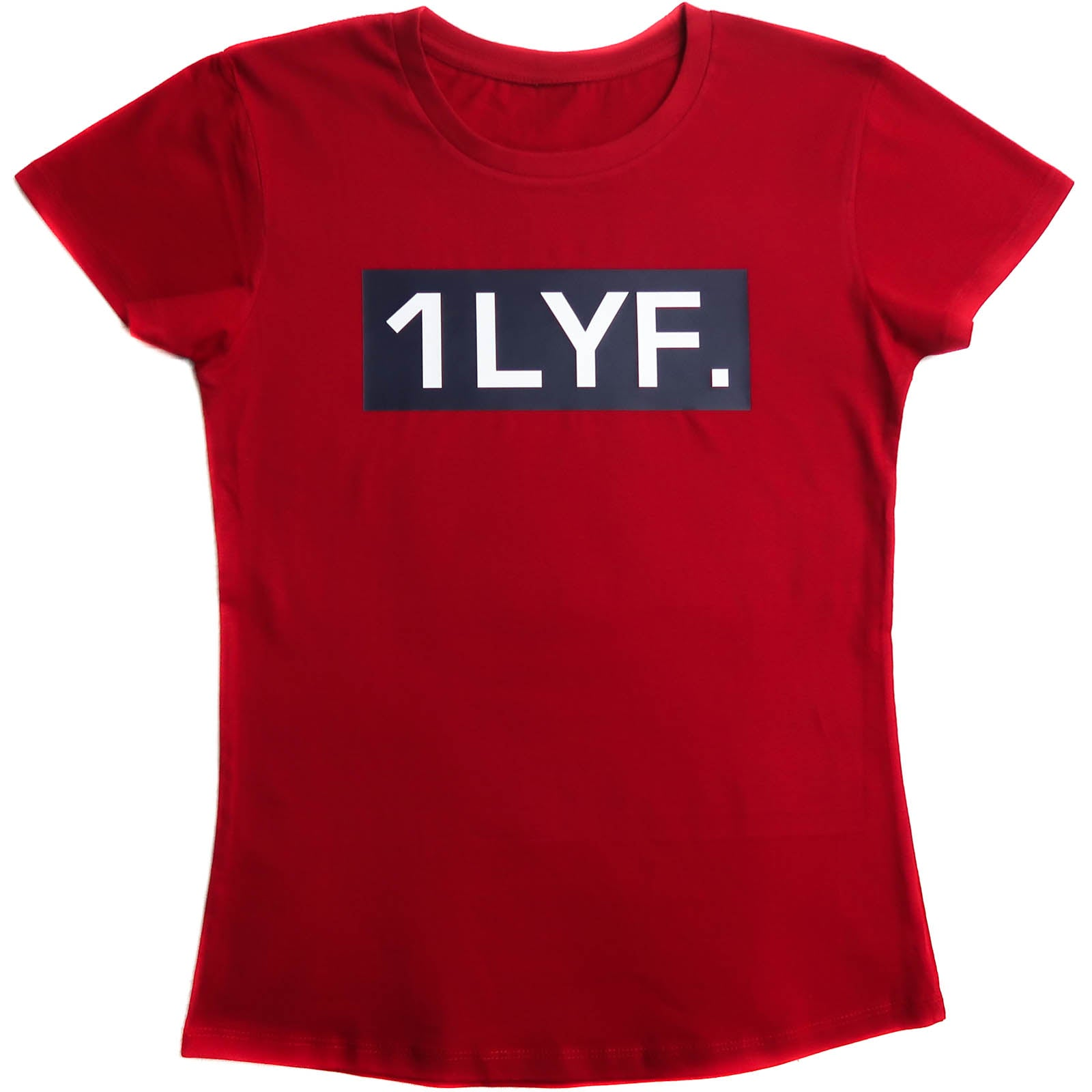Womens Original Red/Navy T-shirt