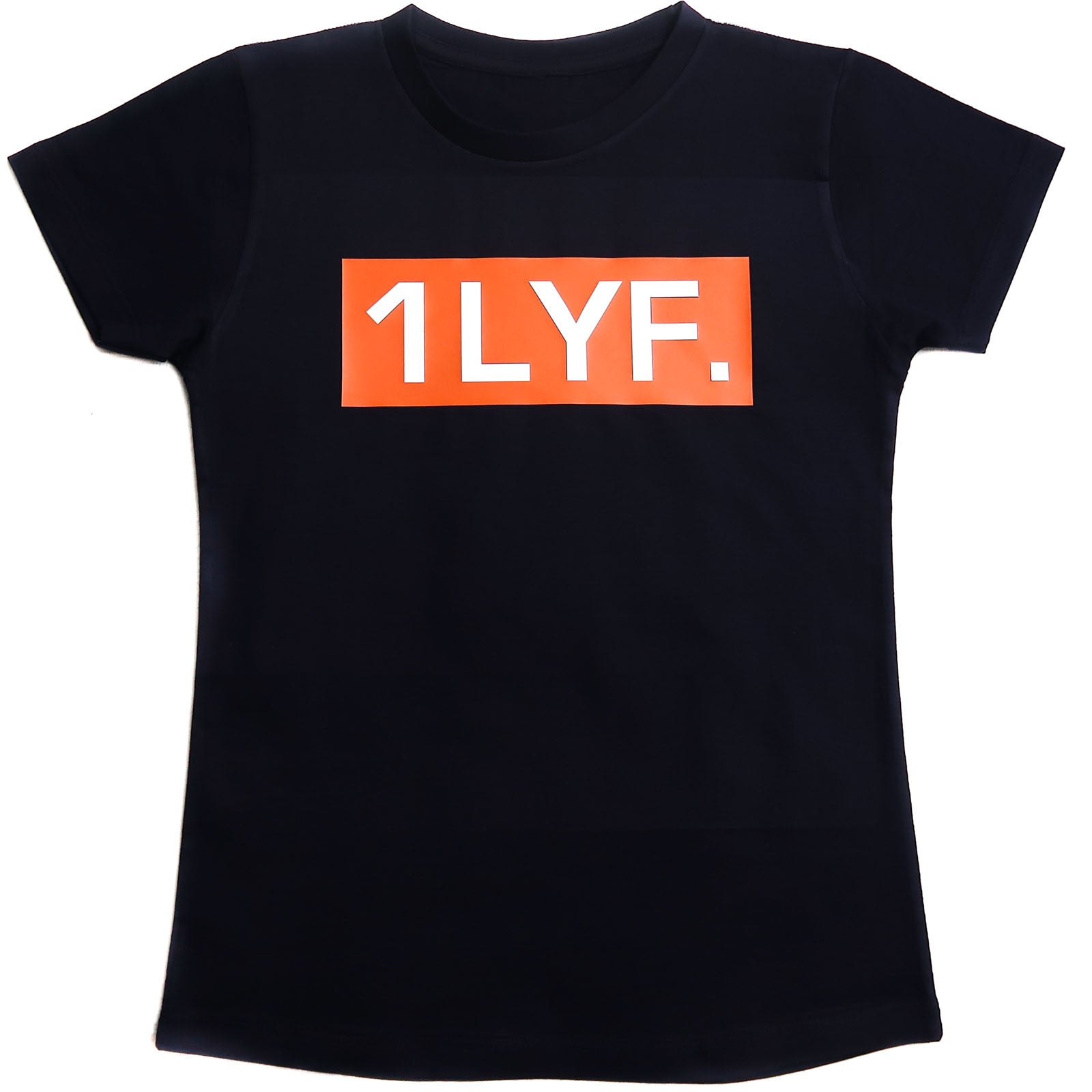 Womens Original Orange/White T-shirt